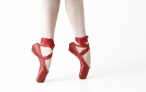 Sapatilhas vermelhas