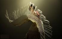 Com o canto, baile e guitarra do flamenco