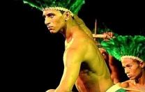 Espetáculo Kaluaña Ibi, da Criart Cia. de Dança