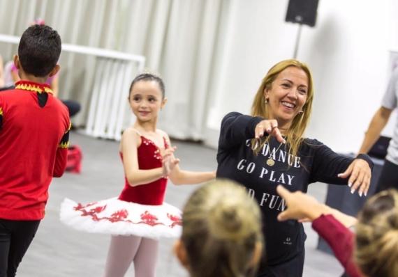 Paola Bartolo volta ao Recife para ministrar novo curso para professores de balé infantil