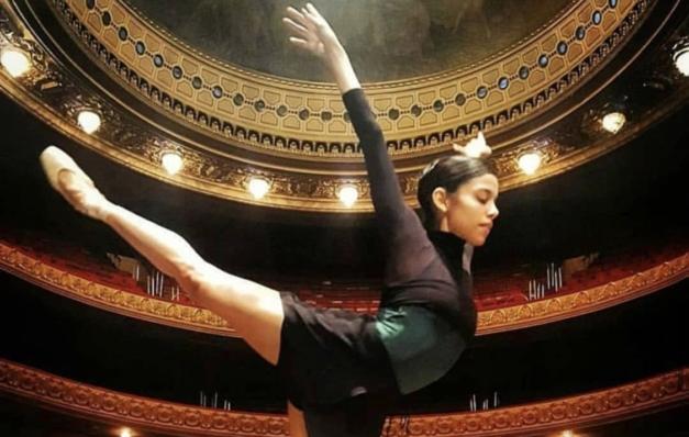 Inspirações da bailarina do Theatro Municipal do Rio de Janeiro Liana Vasconcelos para produzir dança em casa